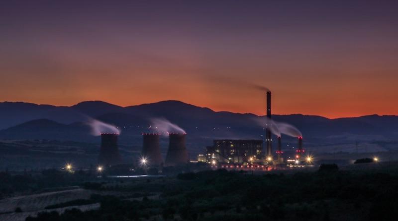 centrale nucléaire - crédit unsplash